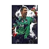 Gianluigi Buffon Fußball Sport Poster Leinwand Poster