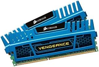 Corsair CMZ8GX3M2A1600C9B Vengeance Blue 8 GB (2X4 GB) PC3-12800 1600mHz DDR3 240-Pin SDRAM Dual Channel Memory Kit 1.5V