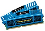 Corsair CMZ8GX3M2A1600C9B Vengeance Blue 8 GB (2X4 GB) PC3-12800 1600mHz DDR3 240-Pin SDRAM Dual Channel Memory Kit 1.5V