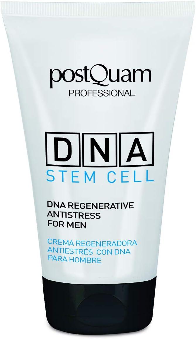 Postquam - Global DNA   Crema Hidrante Facial Hombre Antiestres, 50 ML