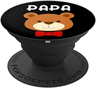 Papa Bear Mama Bear Matching Family Shirt Mom Dad Cute Gift PopSockets Grip and Stand for Phones and Tablets