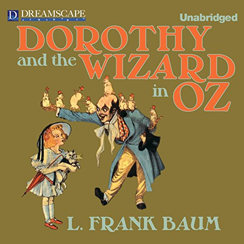 Dorothy and the Wizard in Oz audiobook cover art