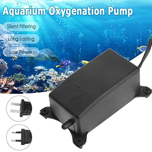 N/ A Qualitäts-Luftpumpe für Fische mit 1 * 2m Gummisauerstoffpumpe Schlauch für Luft-Blase Stein, Aquarium Teichpumpe Aquarium-Zubehör