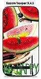 ONOZO Phone Case For Kazam Trooper X4.5Watermelon Design