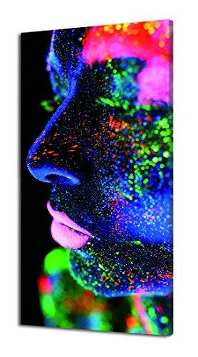 PINTDECOR Glitter Leuchtpanel, Tannenholz, mehrfarbig, 80x 40x 4.5cm