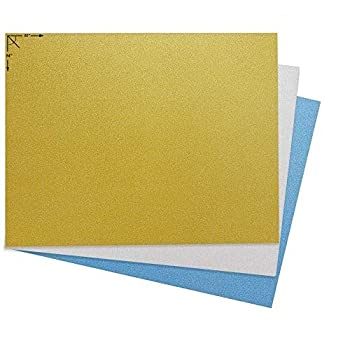Emraw Poster Board Sturdy Office Glitter Blanks Sheets Sign Scrapbooking Blank Graphic Display Board Durable for Arts and Crafts Projects Blank Board 3 per Pack  Pack of 2