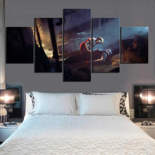 hllhpc (No Frame Fan Art HD BioShock Wandspel Kunstwerken Schilderij als verjaardagskaart decoratie voor de muur van de slaapkamer (40x60 40x80 40x100)