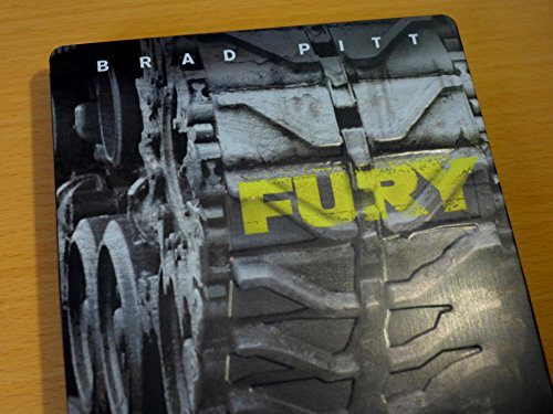 Fury - HMV Exclusive Limited (Steelbook) [Blu-ray] mit geprägter Panzerkette