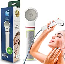JOY SWAN Filtered Shower Head, Shower Head with Handheld, High Pressure & Water Saving Showerhead Filter, Softens Hard Water, Filters Chlorine & Fluoride, Helps Dry & Itchy Skin, (WITHOUT HOSE)