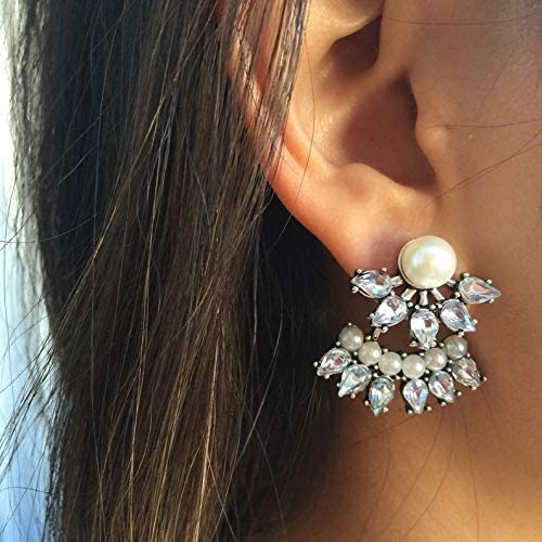 Silver Tampa Mall Ear Translated Jackets- Pearl Jacket Glam Sparkly