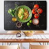 Granos Especias Frutas Cocina Cocina Lienzo Pintura Carteles e impresiones Arte de la pared Comida Imágenes Sala de estar A 70x100CM