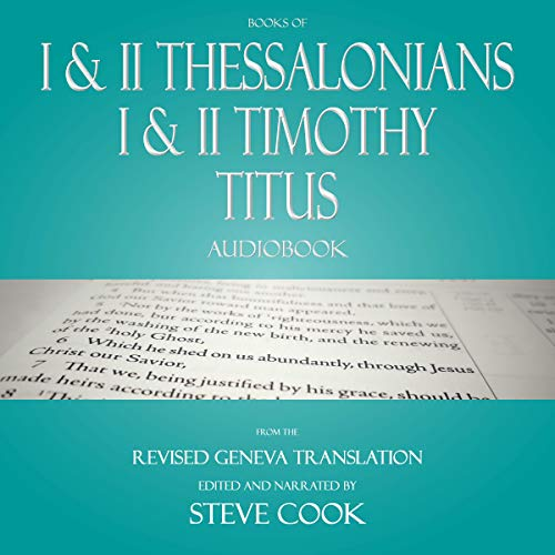 Books of I & II Thessalonians; I & II Timothy; Titus Audiobook cover art