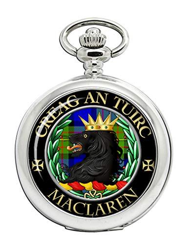 Maclaren Scottish Clan Crest Full Hunter Reloj de Bolsillo