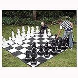 XHH Piezas de ajedrez Gigantes Fiesta Familiar de Entretenimiento de Rompecabezas al Aire Libre