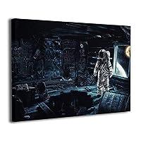 Skydoor J パネル ポスターフレーム 宇宙飛行士 インテリア アートフレーム 額 モダン 壁掛けポスタ アート 壁アート 壁掛け絵画 装飾画 かべ飾り 30×40