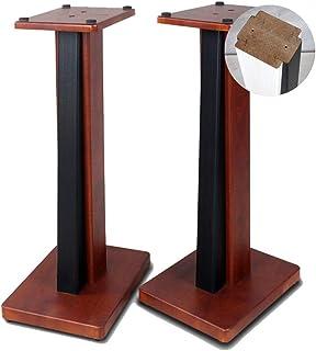 Speaker Mounts A Pair Of Speaker Brackets Floor-standing Wooden Bookshelf Speaker Stand Home Entertainment System Bracket ...