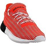 adidas Mens Tubular Dusk Casual Sneakers, Red, 11