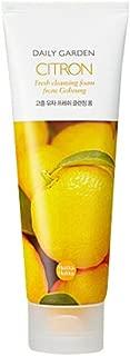 Holika Holika Daily Garden Citron Fresh Cleansing Foam, 4.1 Ounce