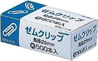 クリノス ゼムクリップ大1箱(500本) Gクリ-1-5