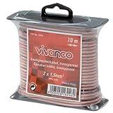Vivanco HPCL A15 Lautsprecherkabel, 2x 1,5qmm, flache Spule