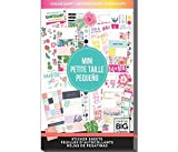 me & my BIG ideas Sticker Value Pack for Mini Planner - The Happy Planner Scrapbooking Supplies - Choose Happy Theme - Multi-Color & Gold Foil - Great for Projects & Albums - 30 Sheets, 749 Stickers