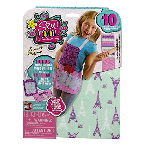 Cool Maker - Sew Creative Fabric Kit, BONUS Apron Project (Packaging May Vary)