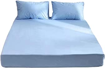 Bedrooms Mattress Protector Cover High Density Polyester Bed Cover Non Slip Breathable Comfort Fade Resistant Sweat Absorp...