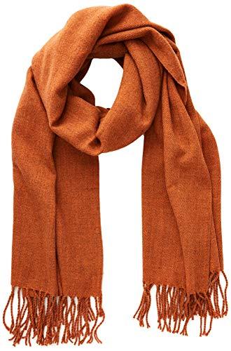 G-STAR RAW Damen Pinch Scarf Schal, Orange (Dusty Royal Orange A489), One Size (Herstellergröße: PC)