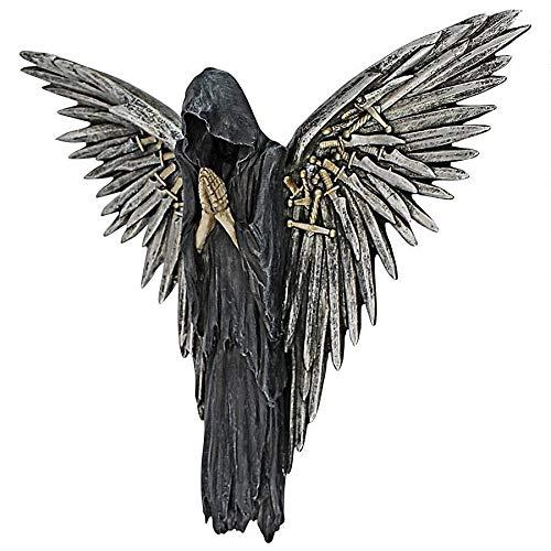 Design Toscano Soul of The Warrior Grim Reaper Wall Sculpture, Full...