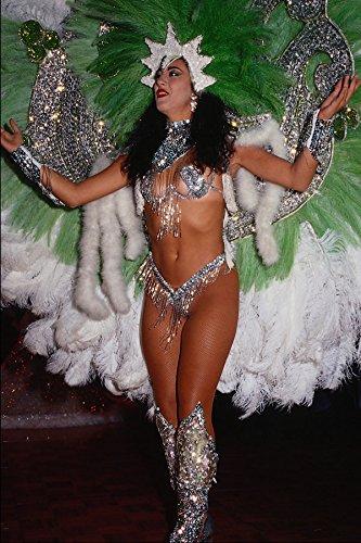 688073 Kostuum Voor Braziliaanse Carnaval A4 Photo Poster Print 10x8
