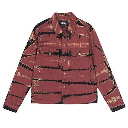Stussy RIP Dye Ranch Jacket 115515 Brick Medium