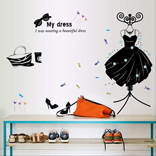QIANGST Productos Ropa Zapatos Sombreros Salón Dormitorio Decoración del hogar Pegatinas de...