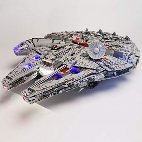 Batteriebox Led Beleuchtung Led Kit für Lego Millennium Falcon 75105 inkl