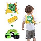 Lehoo Castle Guinzaglio per bambini per passeggiate, Imbracature di sicurezza per bambini Guinzagli per bambini, Imbracatura di sicurezza per bambini(Verde)