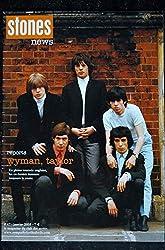 STONES News n° 47 2005 01 wyman - taylor - Jean Louis Aubert - Respectable - Elvis Presley