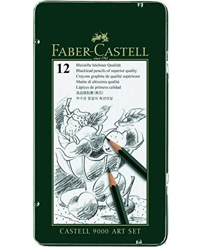 Faber-Castell Grafiet Potloden Castell 9000-Art-8b-2 H Set