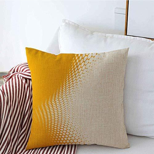 Funda de Cojine Throw Cojín Resumen Copyspace Texturas Diseño de negocios corporativos de semitonos Concepto de cartelera Copiar puntos Fundas de almohada de lino blanco Fundas Cojines