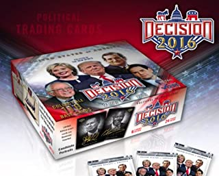 2016 political trading cards