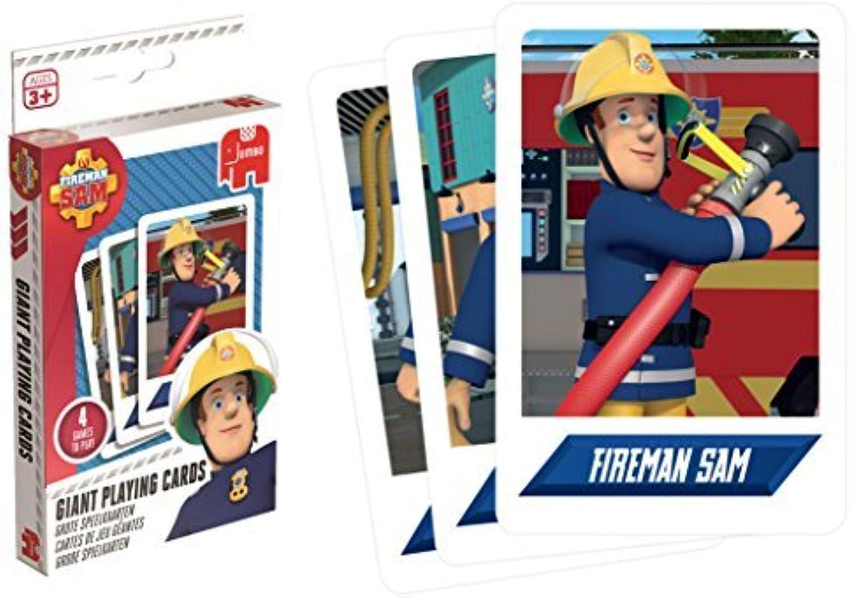 edición limitada en caliente Jumbo Juegos Fireman Fireman Fireman Sam Giant Jugaring Cocheds Juego by Jumbo Juegos  de moda