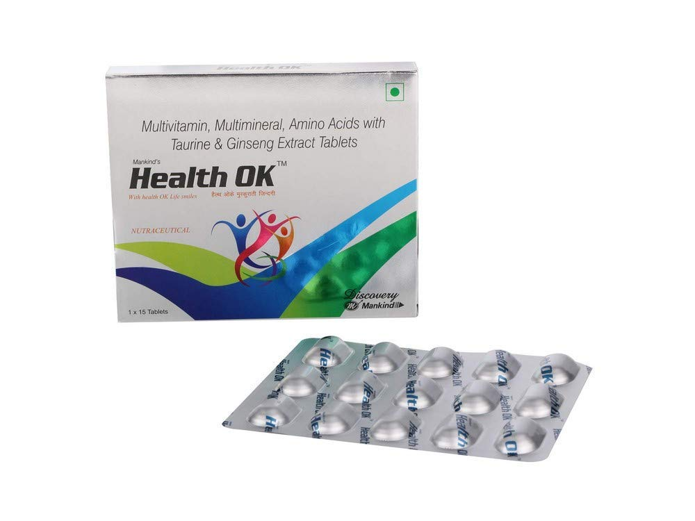 health ok tablet is the best multivitamin in india.