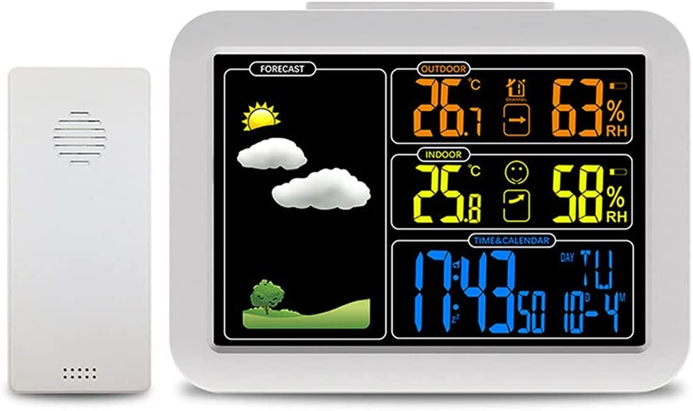 Weather Station Fort 2021 model Worth Mall with Wireless Mon Digital Sensors Color