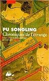 Chroniques de l'étrange - Editions Philippe Picquier - 19/05/1998