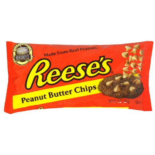 Reese's Peanut Butter Baking Chips, 10-Ounce Bag (Pack of 6)