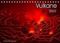 Vulkane 2022 (Tischkalender 2022 DIN A5 quer): Vulkane der Welt, Monatskalender, 14 Seiten (Monatskalender, 14 Seiten )