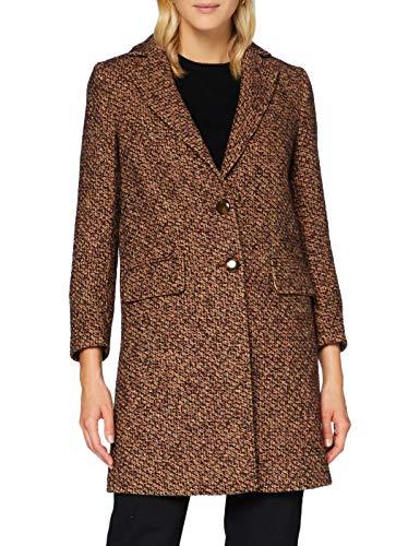 Sisley Coat Cappotto, Multicolore 903, 44 Donna