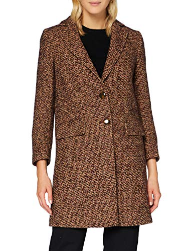 Sisley Coat Cappotto, Multicolore 903, 44 Donna