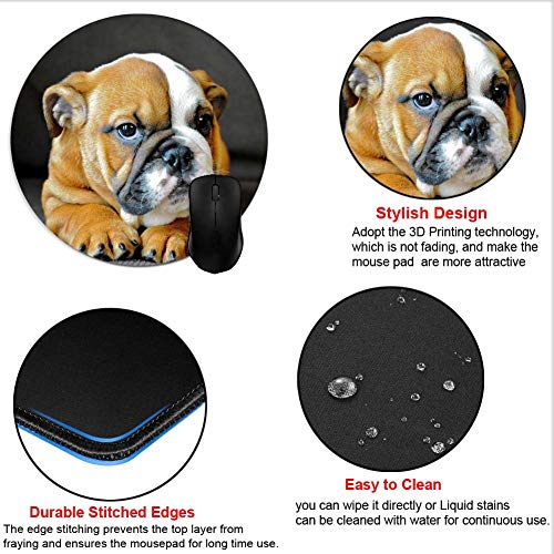 Mouse Pads English Bulldog Mouse Mat Game Office Accessory Desktop Photo #5