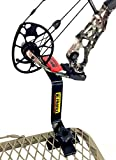 Bow Buddy Bow Hanger | Hang-On Buddy Treestand Bow Holder Removable with Rubber Grip Compound Bow...