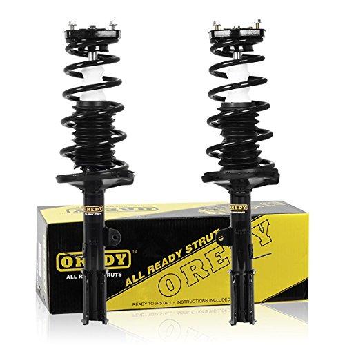 OREDY Shocks Struts 2PCS Rear Struts Complete Struts Assembly Shocks and Struts Coil Spring 171953 SR4066 15052 Compatible with Corolla 93-02 Excludes Wagon Models/Prizm 98-02/Geo Prizm 93-97