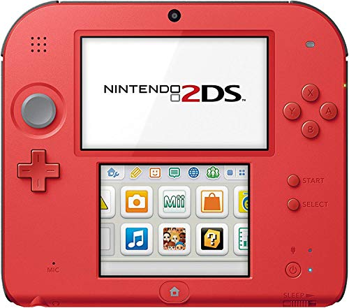 Nintendo Nintendo 2DS-Crimson Red 2 - Nintendo 2DS (Renewed)